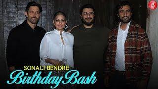 Sonali Bendres Birthday Party | Hrithik Roshan  Sussanne Khan , Kunal Kapoor