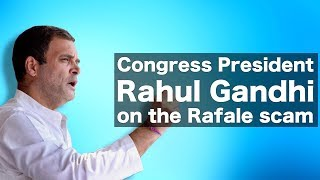 Congress President Rahul Gandhi's top questions to PM Modi & BJP govt. on Rafale Scam in Parliament