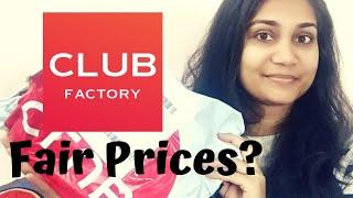 Club Factory Haul | Nidhi Katiyar