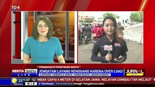 Perbaikan Flyover Renggang di Rawabuaya Ditargetkan Selesai Hari Ini