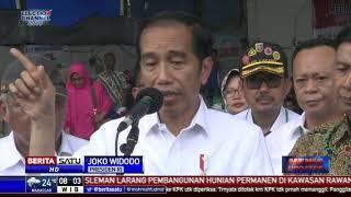 Jokowi Instruksikan Relokasi Korban Tsunami di Lampung Selatan