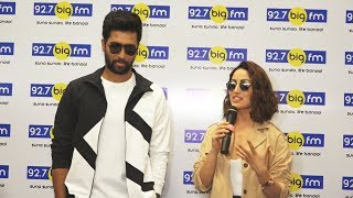 Vicky Kaushal & Yami Gautam Spotted At Big Fm To Promote Their Film 'URI'