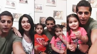 Karanvir Bohra First LIVE With Daughters Bella And Vienna After Bigg Boss 12