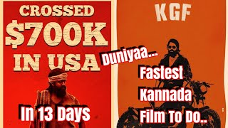 #KGF Becomes Fastest Kannada Film To Cross $700K In USA In Just 13 Days