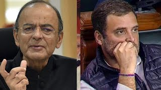 Jaitley blasts Rahul for calling PM's interviewer pliable