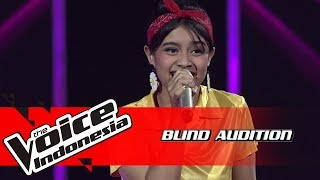 Kysha - Love Fool | Blind Auditions | The Voice Indonesia GTV 2018