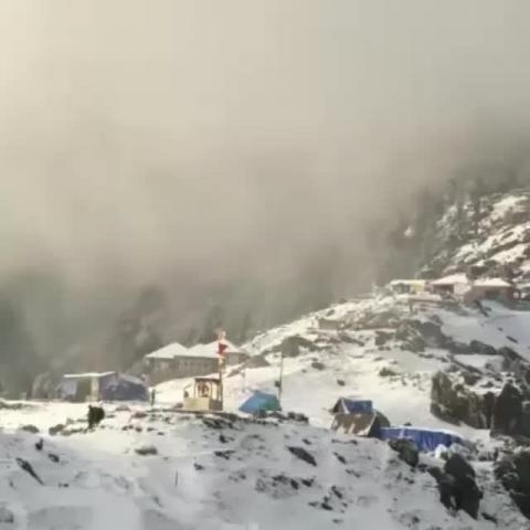 Triund Fresh Snowfall