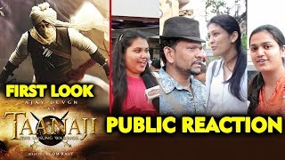 TANHAJI | Ajay Devgn Fierce Look As Marathi Warrior | PUBLIC REACTION