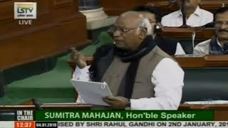 Winter Session of Parliament: LoP Lok Sabha Mallikarjun Kharge speech on Rafale Deal Scam
