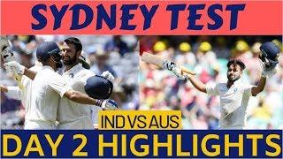 India Vs Australia 4th Test, Day 2 Highlights: India 622/7, Pujara -193, Pant-159*