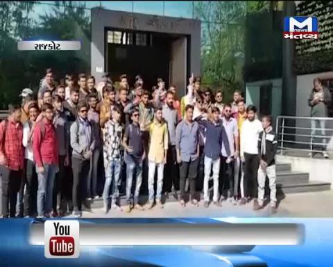 Rajkot: NSUI submitted memorandum to take steps on increased accidents