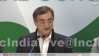 LIVE: AICC Press Briefing By Vivek Tankha at Congress HQ