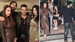 Arjun Kapoor and Malaika Arora Party Together on New Years Eve With Karan Johar and Sanjay Kapoor
