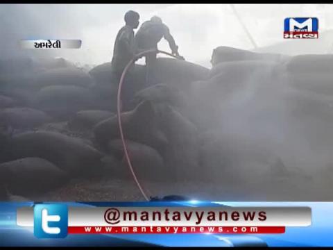 Amreli: Fire breaks out in a mill