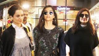 Bollywood Celebs Spotted At Mumbai Airport | Kangana, Sonam, Parineeti, Sunil Shetty