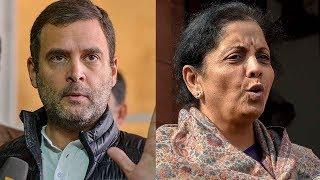 Face off: Nirmala Sitharaman vs Rahul Gandhi on Rafale Deal