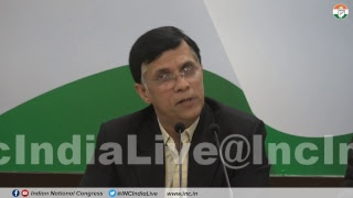 AICC Press Briefing By Pawan Khera at Congress HQ on Rafale Deal Scam