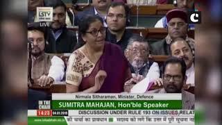 Rafale: India will get Rafale jet by Sept 2019, Congress shedding crocodile tears: Nirmala Sitharam