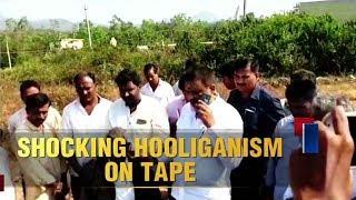 Karnataka Congress MLA caught on camera threatening forest official