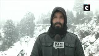 J&K's Doda receives fresh snowfall