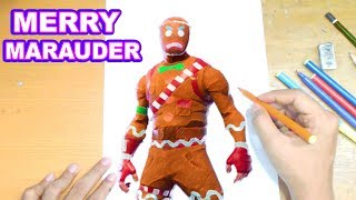 FORTNITE Drawing MERRY MARAUDER - How to Draw MERRY MARAUDER | Step-by-Step Tutorial - Fortnite