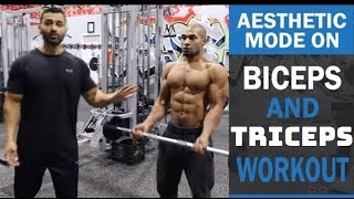 Bicep & Tricep AESTHETIC MODE ON Workout! DAY 6 (Hindi / Punjabi)