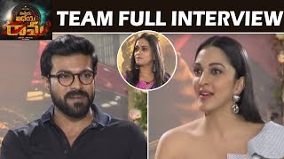 Vinaya Vidheya Rama Exclusive Team interview | VVR Team interview | Ram Charan | Top Telugu TV