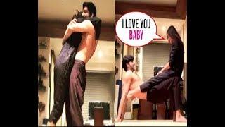 Sushmita Sen and boyfriend Rohman Shawl romantic workout | सुष्मिता सेन का हॉट वर्कआउट