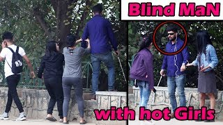 Super Girls saving blind mans life PART2 | social experiment/pranks | UngliBaaz