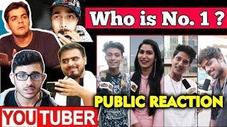 WHO IS NO.1 Comedy YouTuber Of India | PUBLIC REACTION | Ashish Chanchlani, Bhuvan Bam, Carryminati