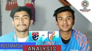 India vs Thailand match analysis and full report