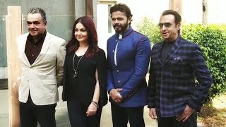 Sreesanth Promotes CABARET Movie With Pooja Bhatt And Gulshan Grover