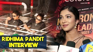 Ridhima Pandit Exclusive Interview | Khatron Ke Khiladi Season 9 | Rohit Shetty