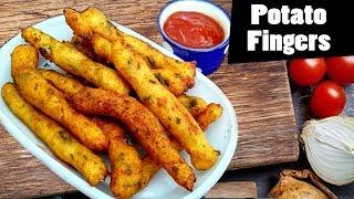how to cook aloo fingers I potato recipes I Tasty Tej I RECTV INDIA