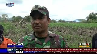 Lahan Hutan Gambut 10 Hektar di Gampong, Aceh Terbakar