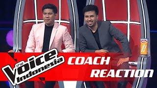 Menampilkan Whistle Voice, Ini Reaksi Para Coach! | COACH REACTION | The Voice Indonesia GTV 2018