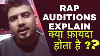 RAP AUDITION EXPLAIN IN INDIA | HINDI RAP 2019