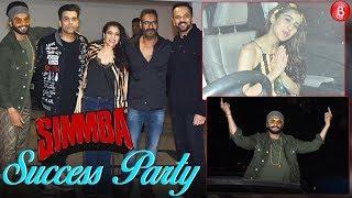 SIMMBA Success Bash | Ranveer Singh Sara Ali Khan Akshay Kumar,Ajay Devgn