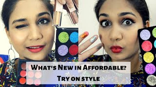 What's New in Affordable?? Try On Affordable Makeup | Swiss Beauty, Color Feel | Nidhi Katiyar