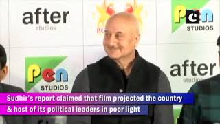 'The Accidental Prime Minister': FIR against Anupam Kher & 13 others