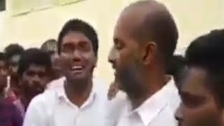 BJP Fans Crying In Hyderabad After TS Elections Results | @ SACH NEWS |