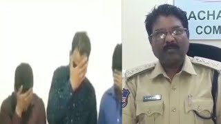 Birthday party   Mens And Ladies Arested By Police   Jalpally Hyderabad  