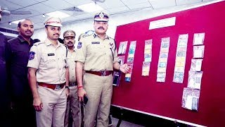 Debit Card Fraudsters Arrested By South Zone Task force | Hyd Cp Speaks On This |