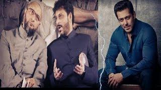 AIMIM Waris Pathan VS Salman Khan | Bodyguard Beats A Boy | @ SACH NEWS |