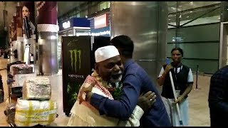 Umrah Group Of Azlan Tours And Travels Comes Back From Umrah To Hyderabad | @ SACH NEWS |