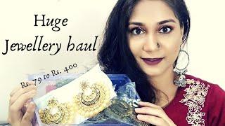 Huge Affordable Jewellery Haul | Junk Metal, Oxidised & Party wear | Nidhi Katiyar
