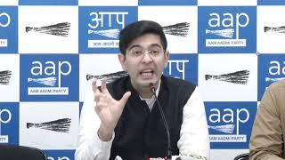 AAP Spokesperson Raghav Chadha Briefs on Delhi Voters Deletion Scam by BJP
