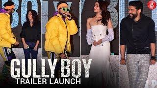 Gully Boy | Trailer Launch Full Video | Ranveer Singh | Alia Bhatt | Zoya Akhtar |14th February