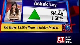 Stocks in news: Adani Ent, Tata Motors and Ashok Ley