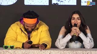 Ranveer Singh Teases Alia Bhatt About Her BF Ranbir Kapoor